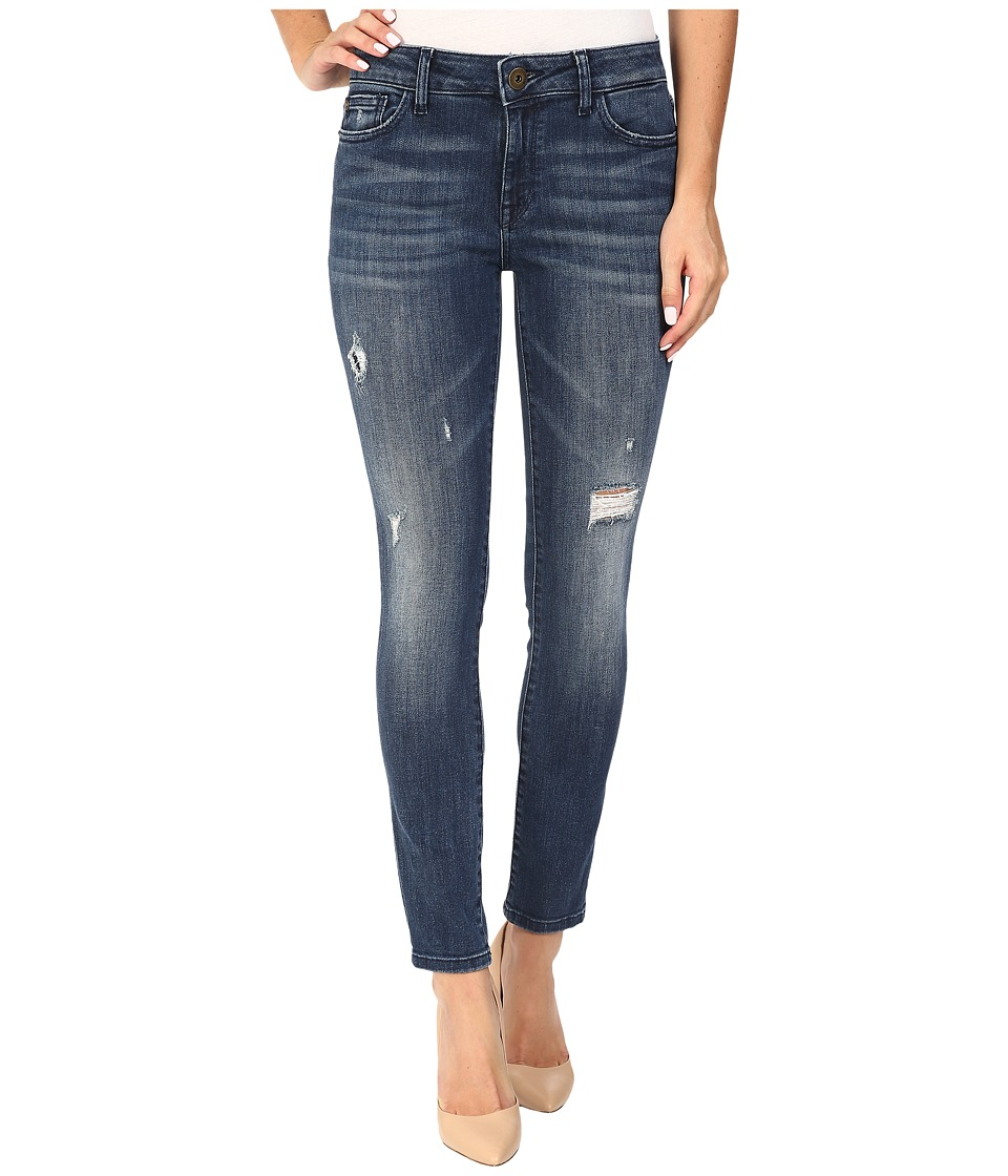 DL1961 - Margaux Mid-Rise Ankle Skinny in Stingray (Stingray) Women's Jeans