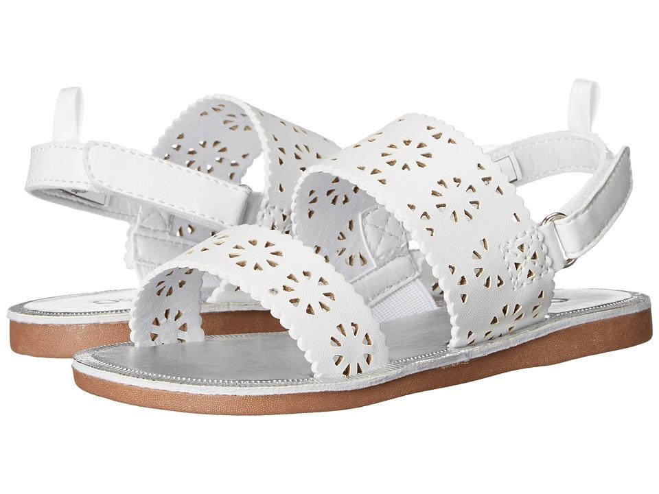 OshKosh - Peggy (Toddler/Little Kid) (White) Girls Shoes