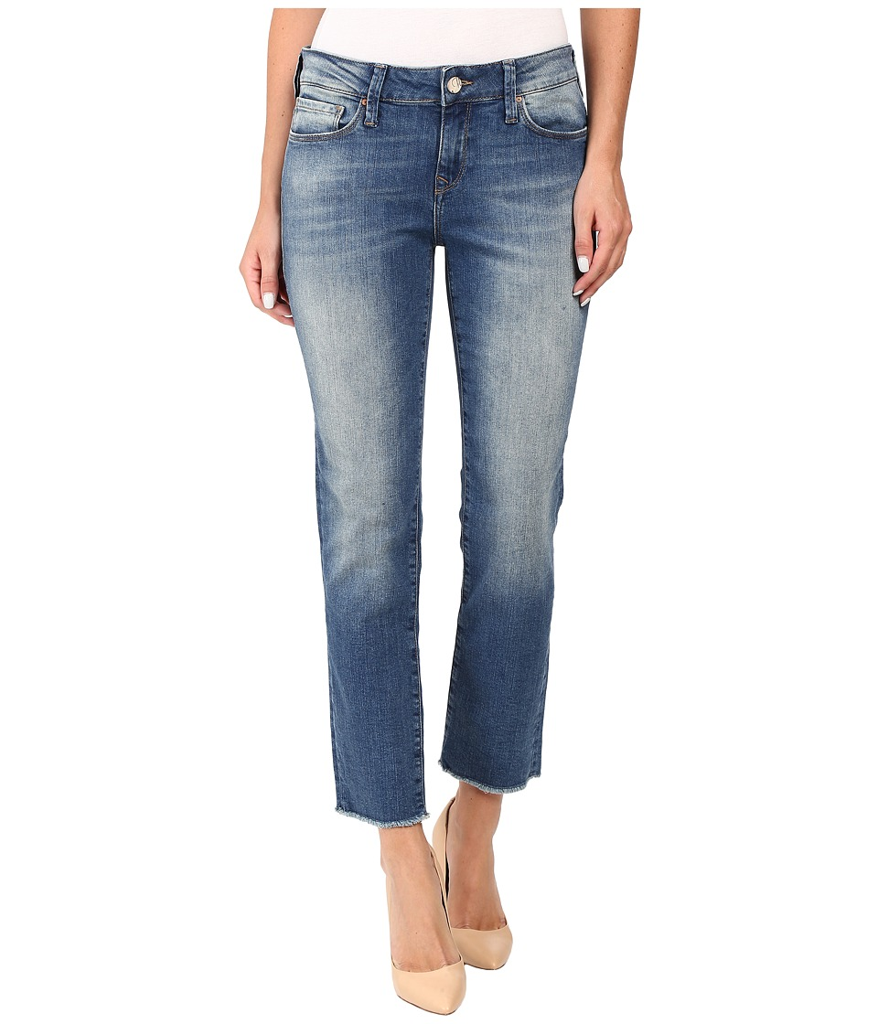 Mavi Jeans - Kerry Ankle Straight Leg in Shaded Ripped Vintage (Shaded Ripped Vintage) Women's Jeans