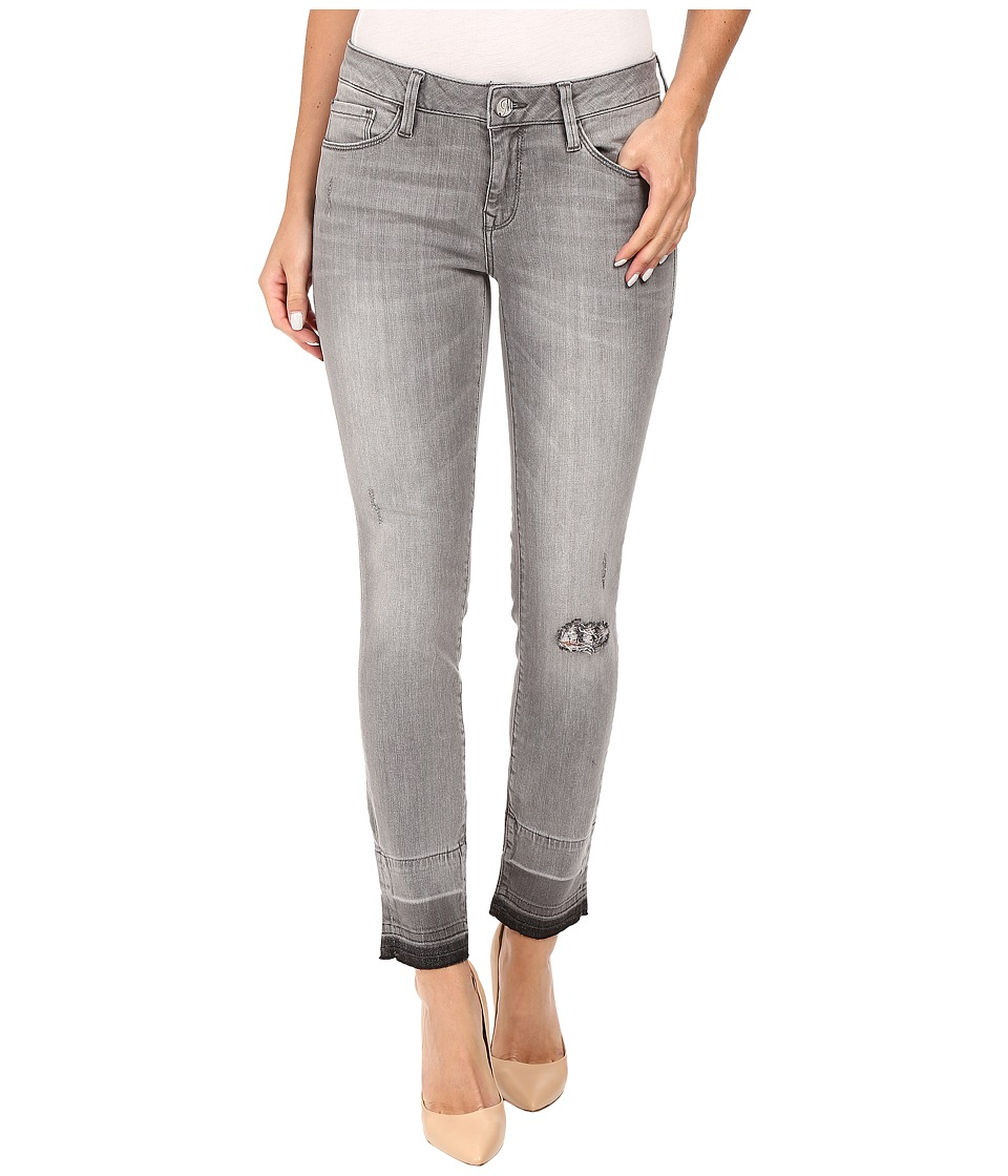 Mavi Jeans Adriana Ankle in Grey Destructed Vintage (Grey Destructed Vintage) Women