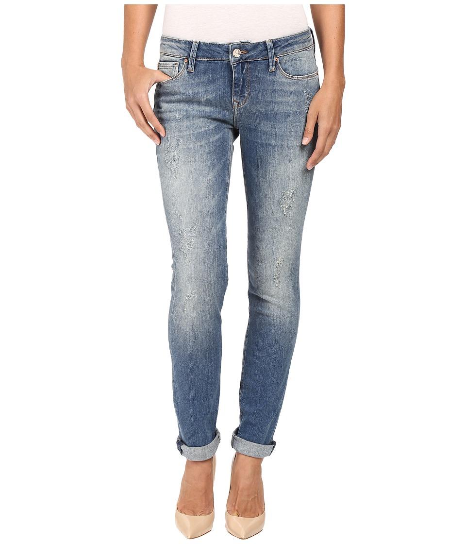 Mavi Jeans Emma Slim Boyfriend in Mid Shaded Vintage (Mid Shaded Vintage) Women