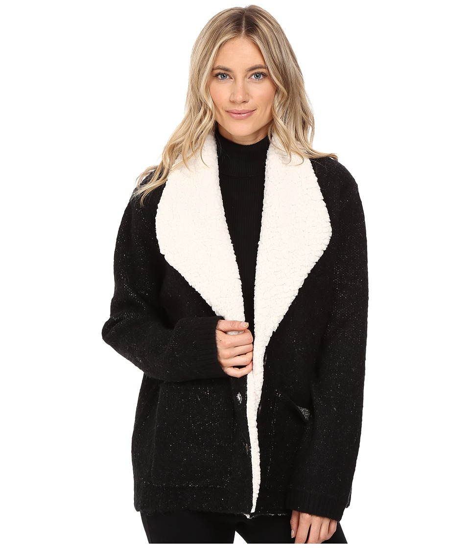 Sanctuary - Brady Knit Jacket (Black) Women's Coat