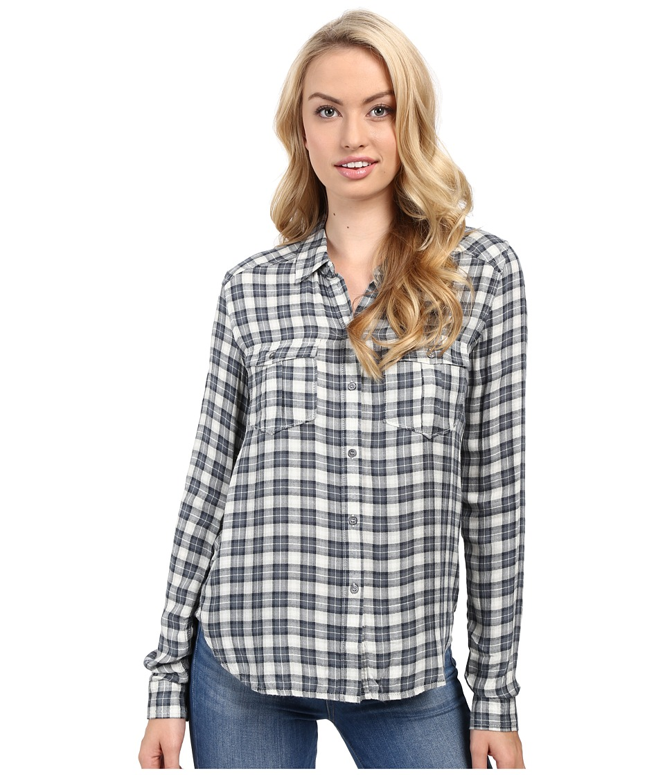 Paige - Mya Shirt (Trooper/Midnight Navy) Women's Clothing