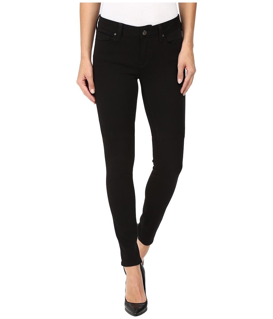 Mavi Jeans Adriana Mid-Rise Super Skinny in Double Black Tribeca (Double Black Tribeca) Women