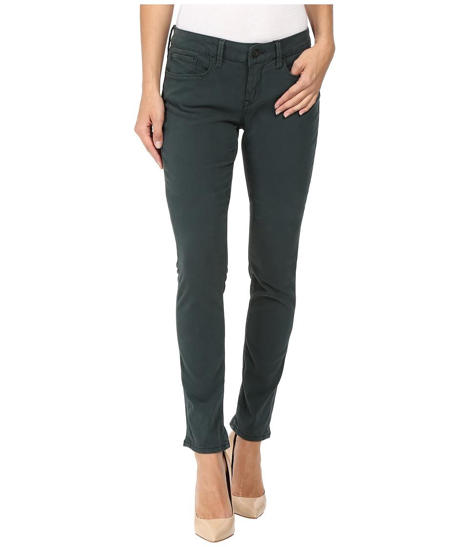 Mavi Jeans Alexa Mid-Rise Skinny in Pine Sateen Twill (Pine Sateen Twill) Women