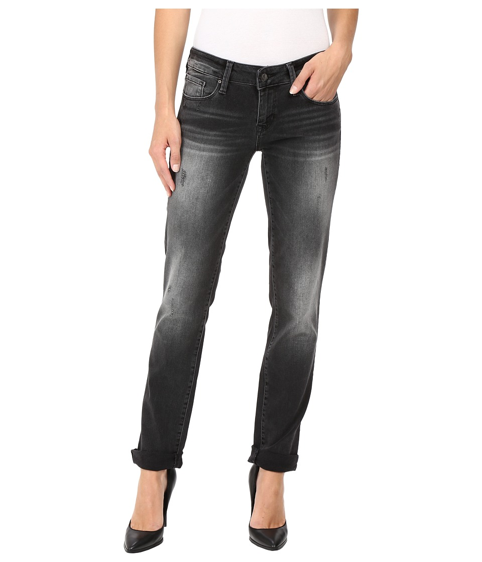 Mavi Jeans Emma Slim Boyfriend in Smoke Vintage (Smoke Vintage) Women