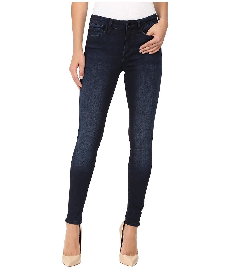 Mavi Jeans - Alissa High Rise Super Skinny in Overnight Tribeca (Overnight Tribeca) Women's Jeans
