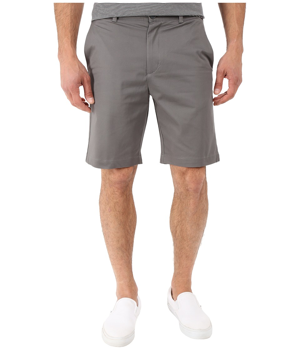 Perry Ellis - Slim Fit Twill Shorts (Castlerock) Men's Shorts