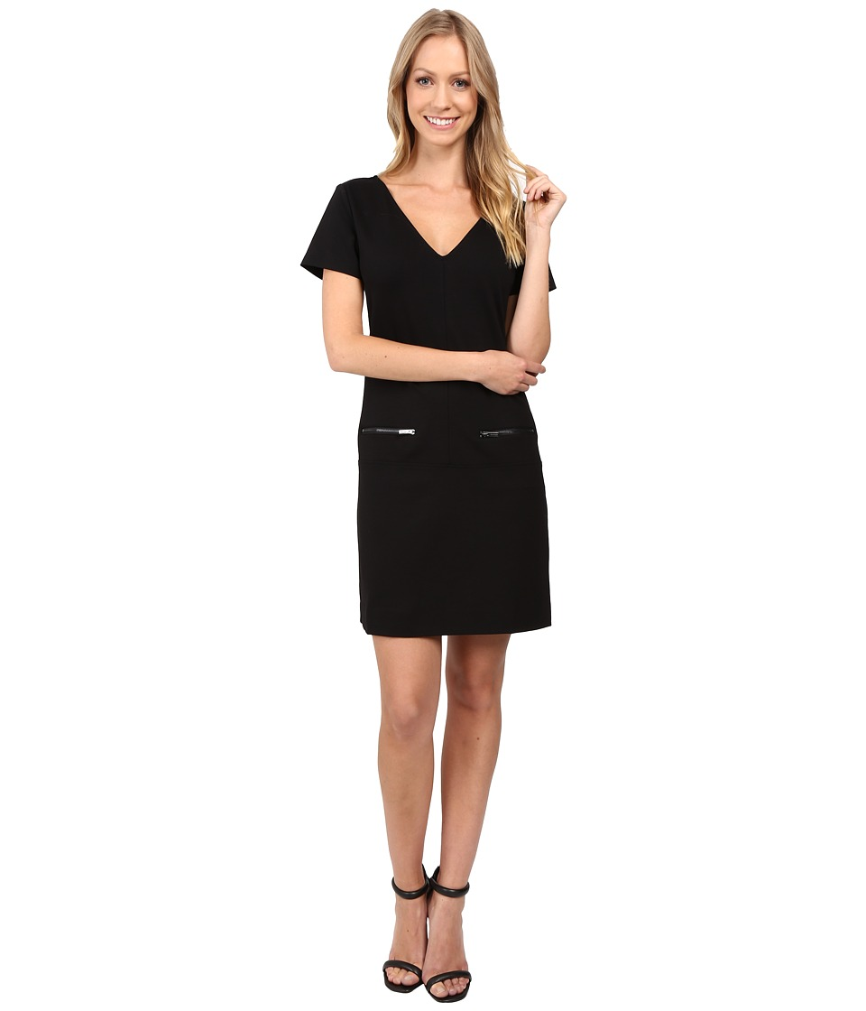 Sanctuary - Little Zip Dress (Black) Women's Dress