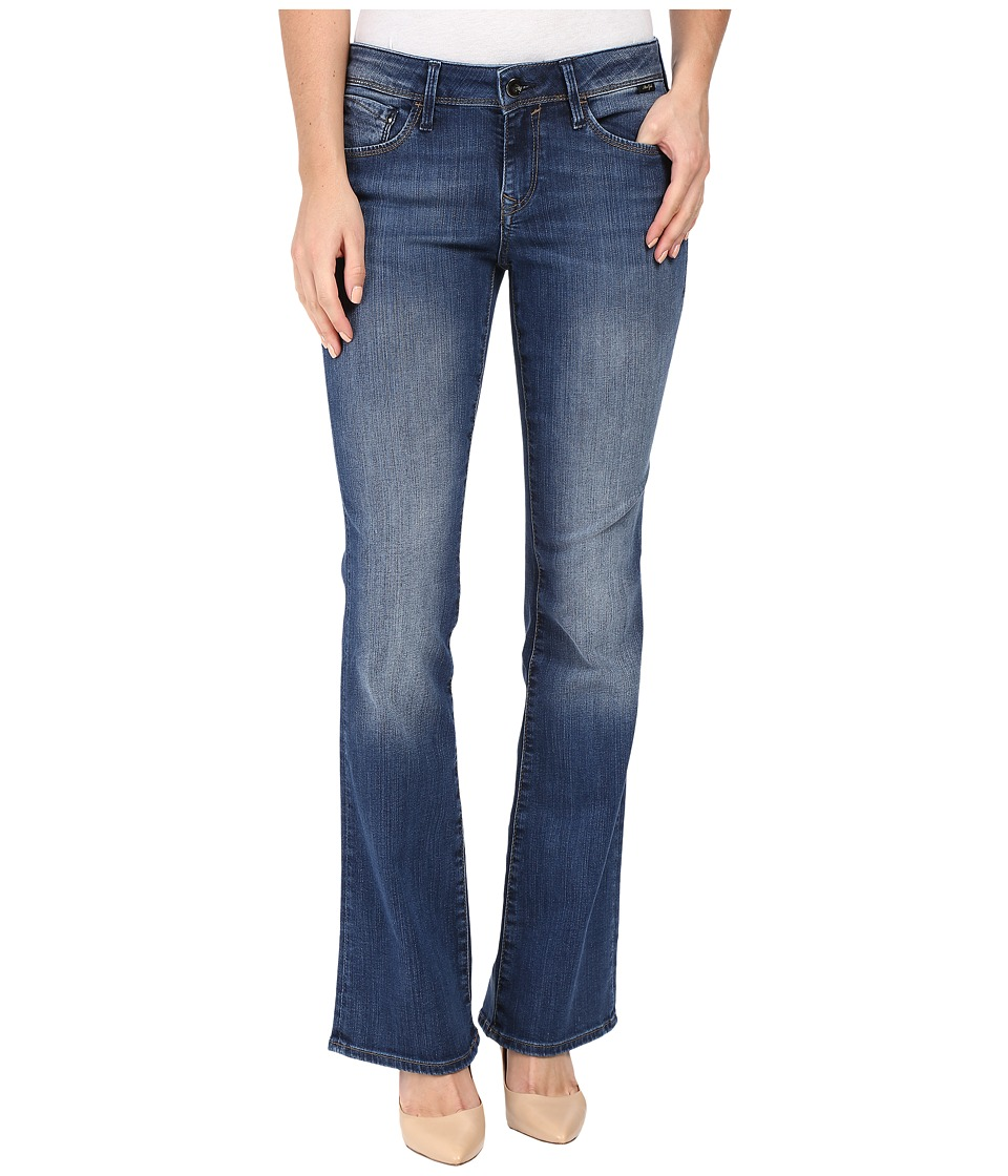Mavi Jeans - Ashley Mid-Rise Bootcut in Mid Indigo Gold (Mid Indigo Gold) Women's Jeans