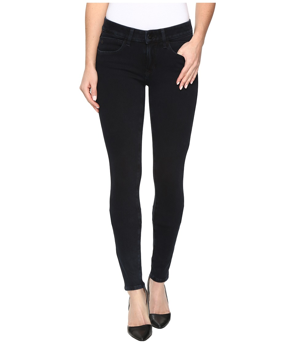 Mavi Jeans - Adriana Mid-Rise Super Skinny in Midnight Move (Midnight Move) Women's Jeans