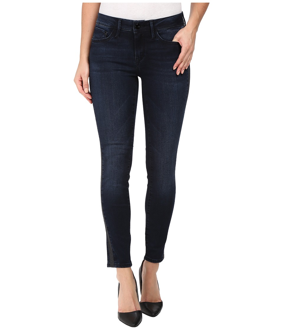Mavi Jeans - Adriana Ankle Mid-Rise Super Skinny in Overnight Gold (Overnight Gold) Women's Jeans