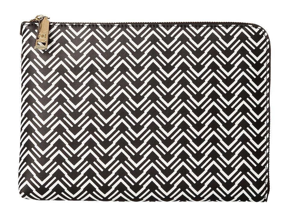 Ivanka Trump - Rio Tech Sleeve (Black/White) Clutch Handbags