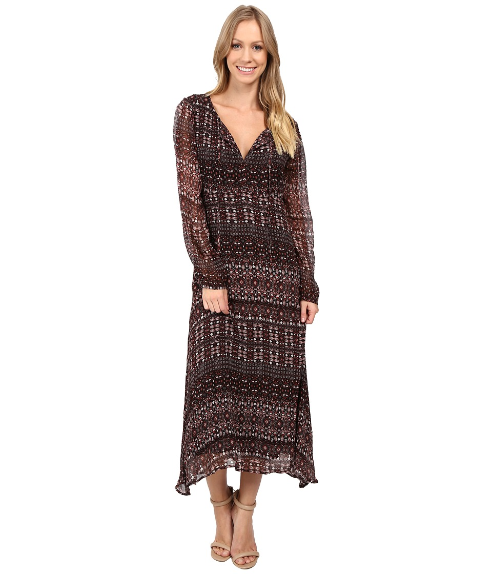 Sanctuary - Fleur Midi Dress (Dark Autumn) Women's Dress