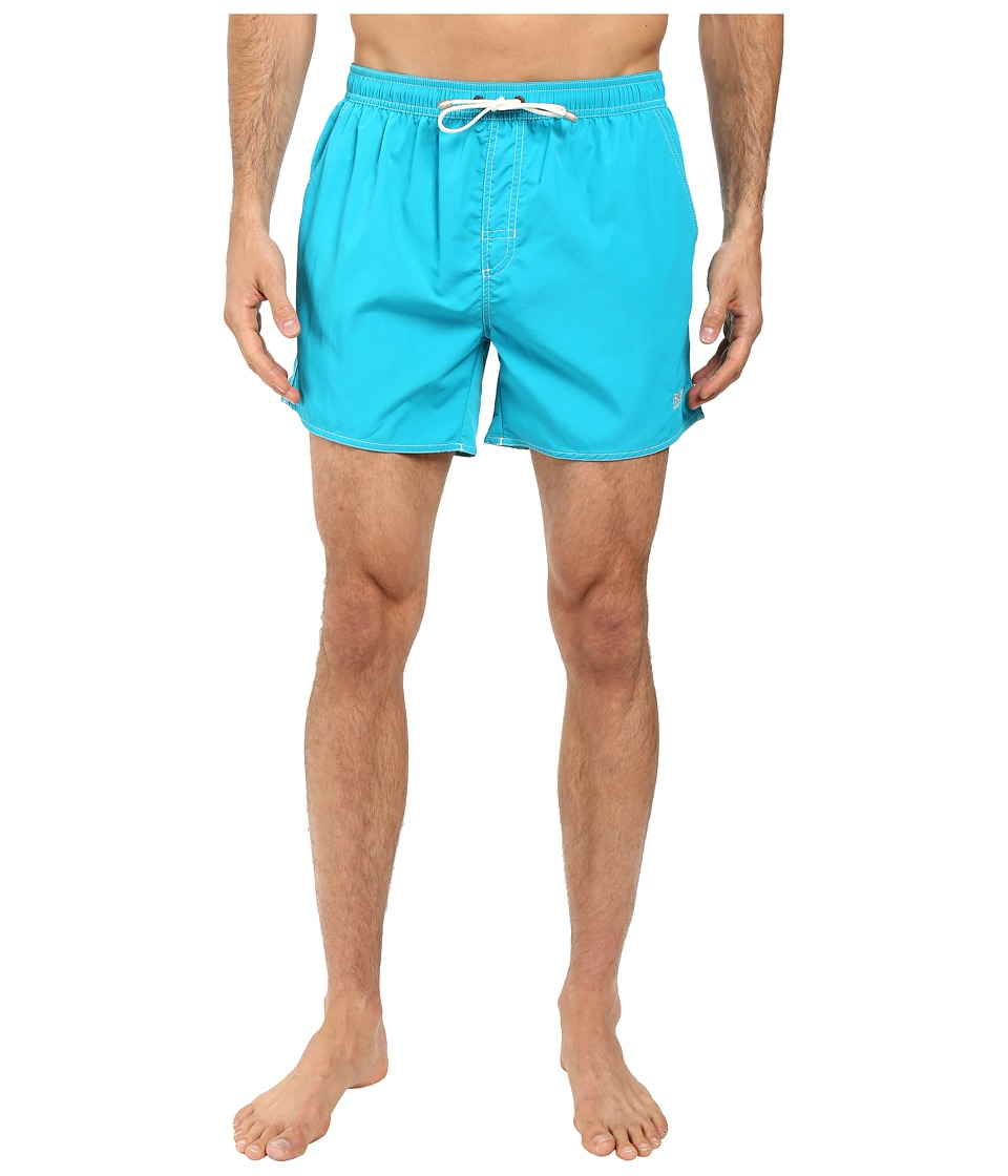BOSS Hugo Boss - Lobster 10155742 01 Swim Shorts (Turquoise) Men's Swimwear