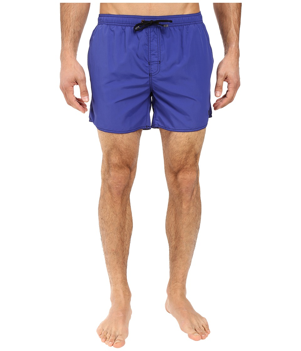 BOSS Hugo Boss - Lobster 10155742 01 Swim Shorts (Medium Blue) Men's Swimwear