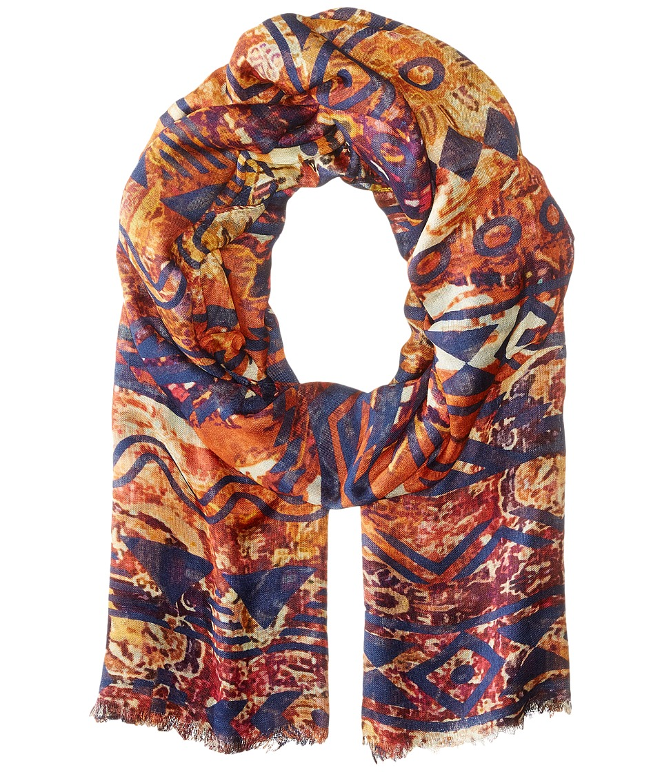 Bindya - Aztec (Orange Multi) Scarves