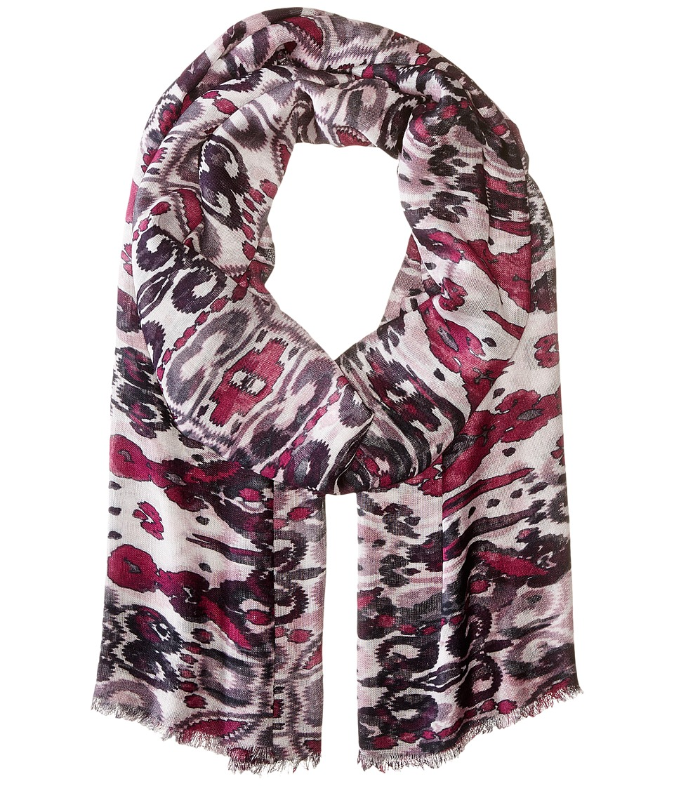 Bindya - Ikat (Pink Multi) Scarves