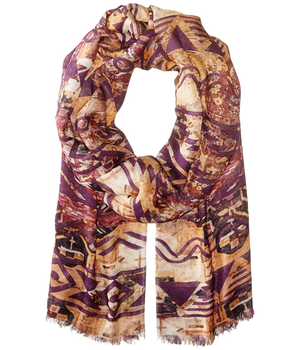 Bindya - Aztec (Yellow Multi) Scarves