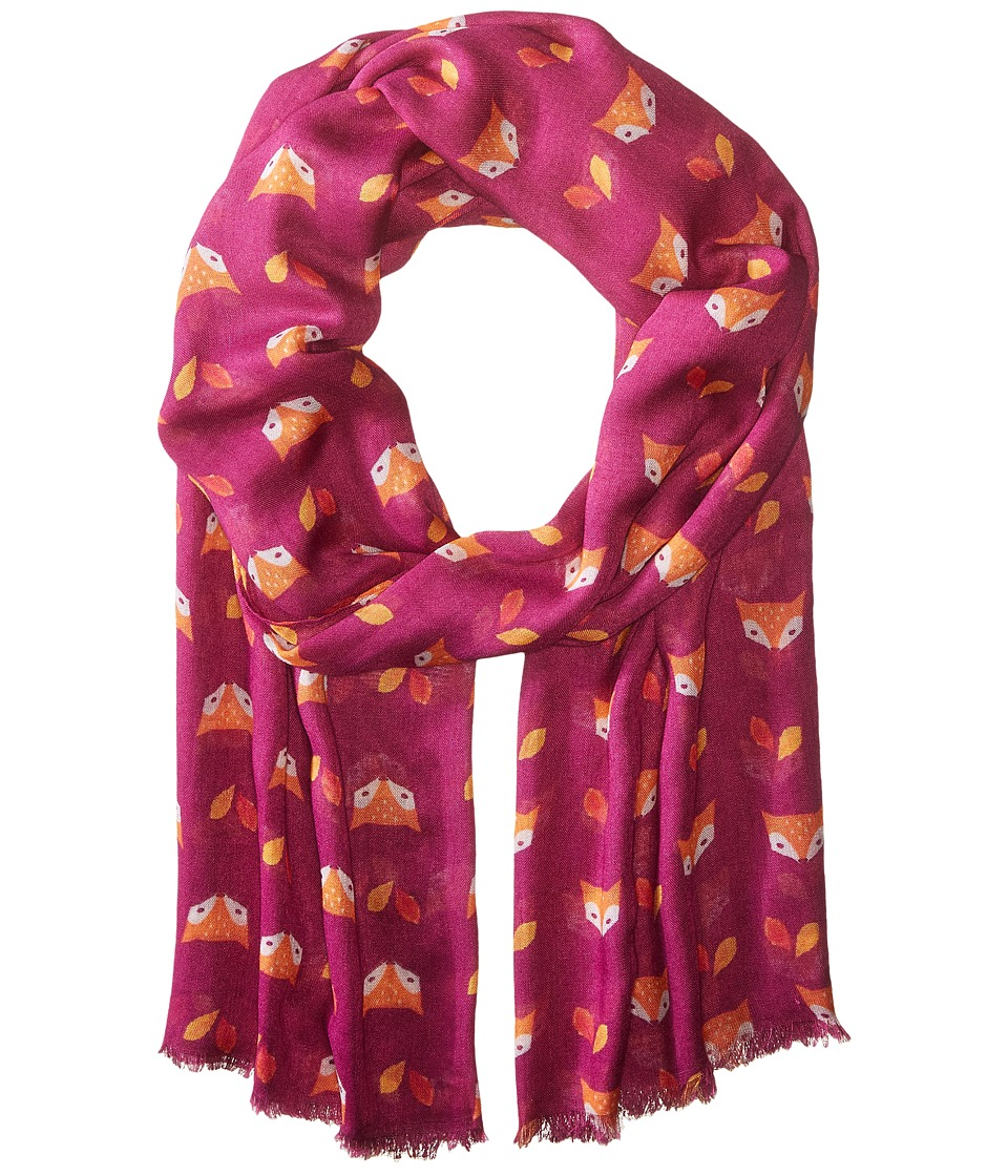 Bindya - On A Face (Pink) Scarves