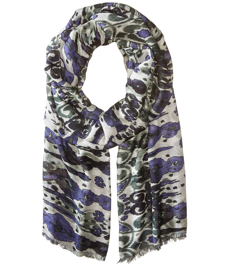 Bindya - Ikat (Blue Multi) Scarves