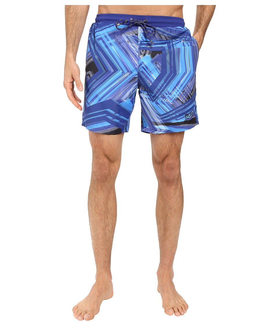 BOSS Hugo Boss - Rockfish 10180964 01 (Open Blue) Men's Swimwear