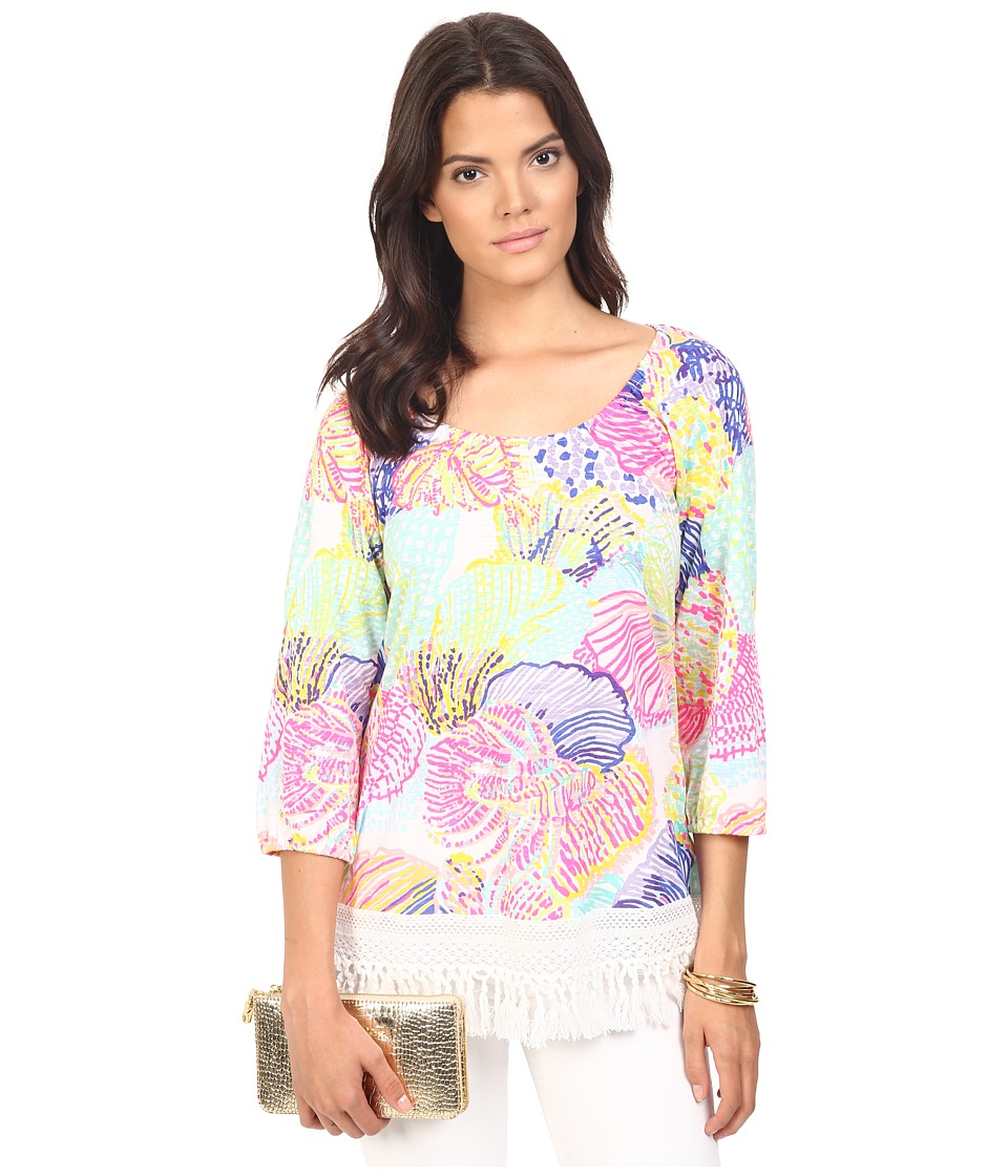 Lilly Pulitzer - Alia Top (Multi Roar of the Sea) Women's Clothing