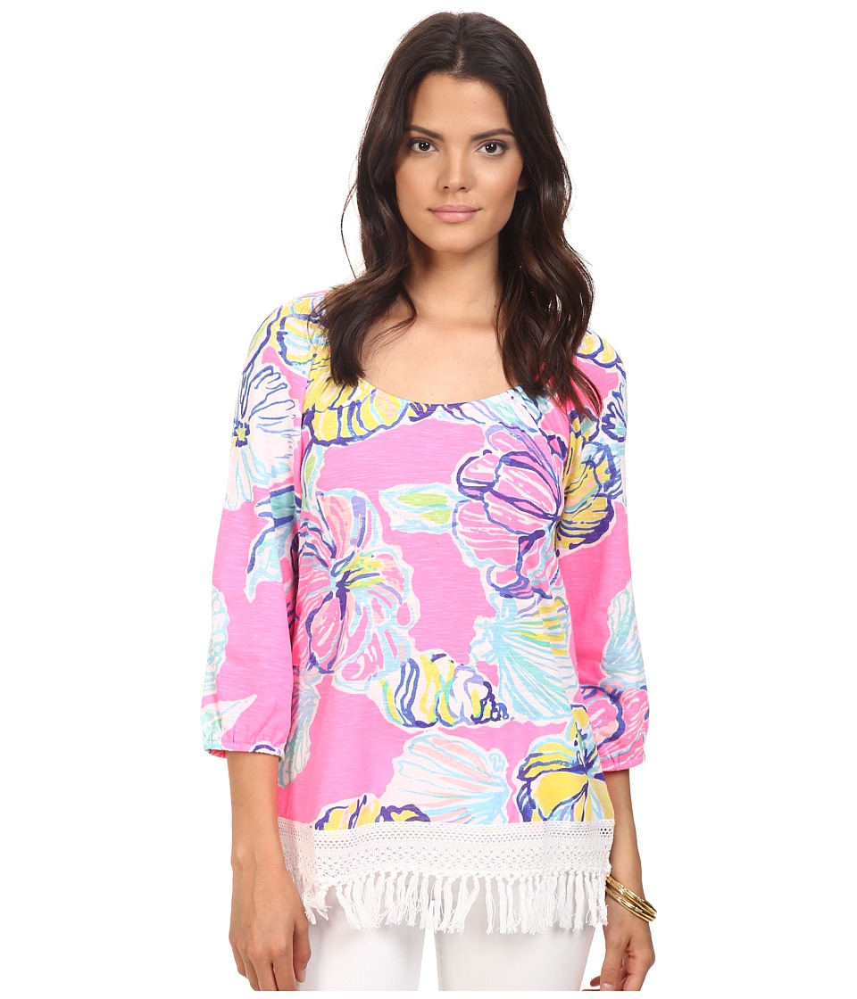 Lilly Pulitzer - Alia Top (Kir Royal Pink Swept by the Tides) Women's Clothing