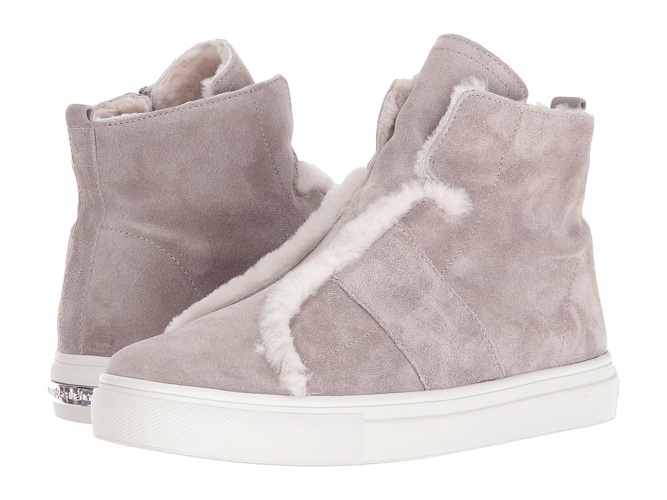 Kennel & Schmenger - Suede High Top (Grey Suede) Women's Shoes