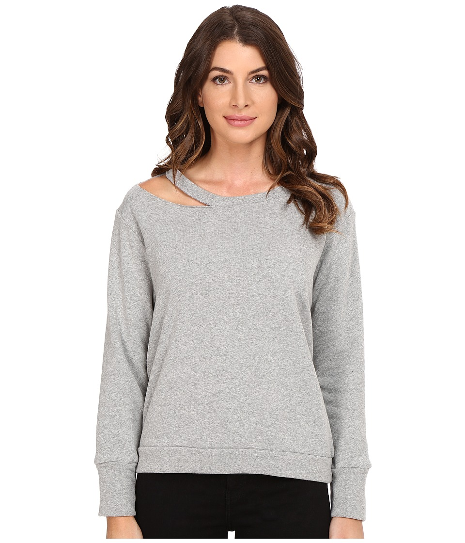 LNA - Cueva Pullover (Heather Grey) Women's Long Sleeve Pullover
