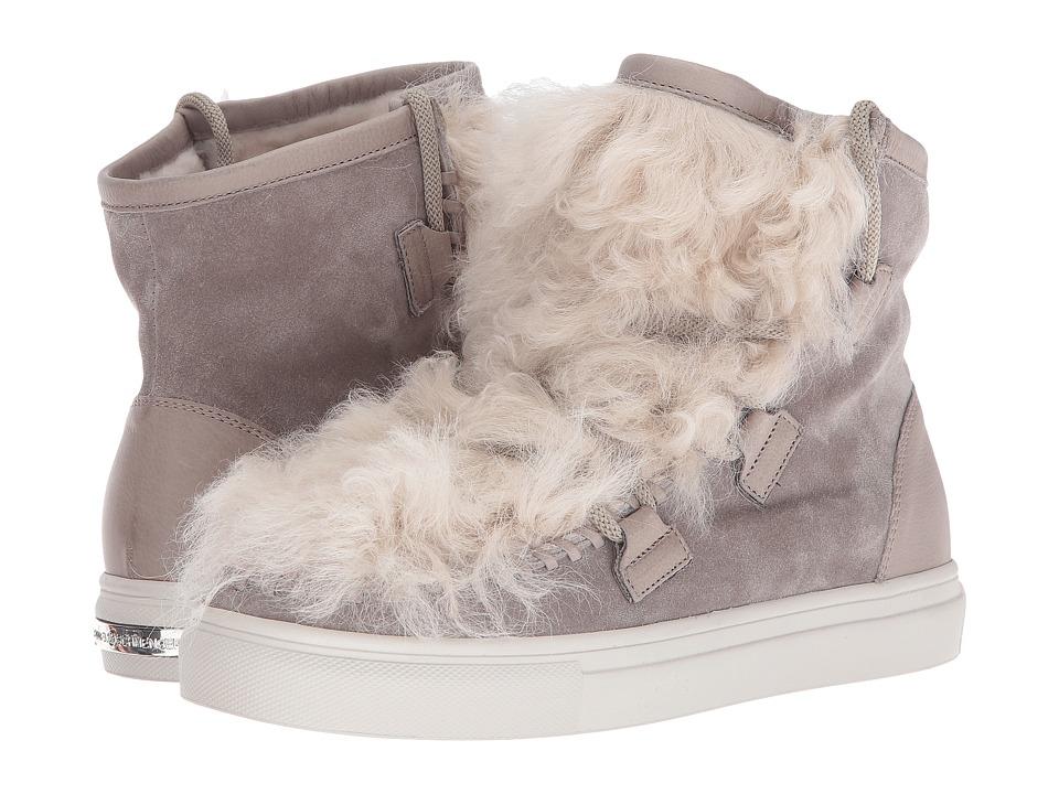 Kennel & Schmenger Shearling Puff Sneaker (Tundra Suede/Shearling) Women