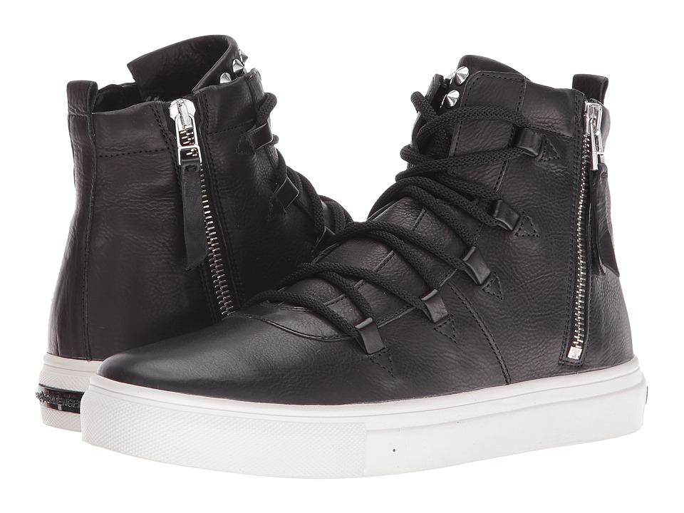 Kennel & Schmenger - Lace Front High Top (Black) Women's Shoes