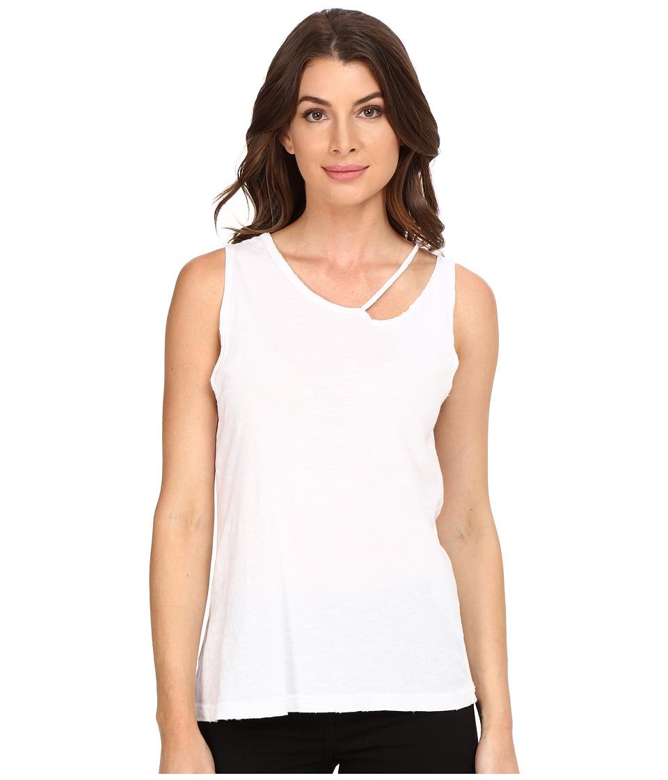 LNA - Desert Tank Top (White) Women's Sleeveless