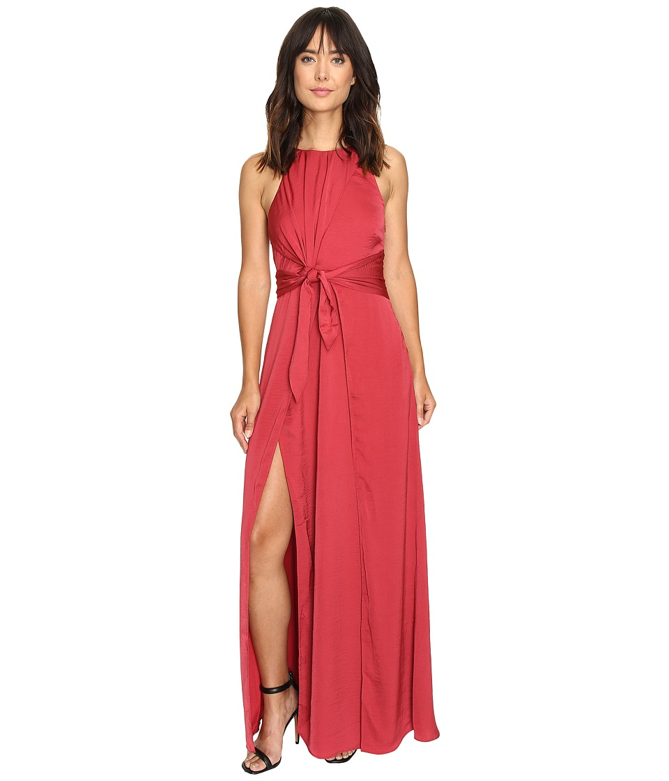StyleStalker - Hera Maxi Dress (Earth Red) Women's Dress