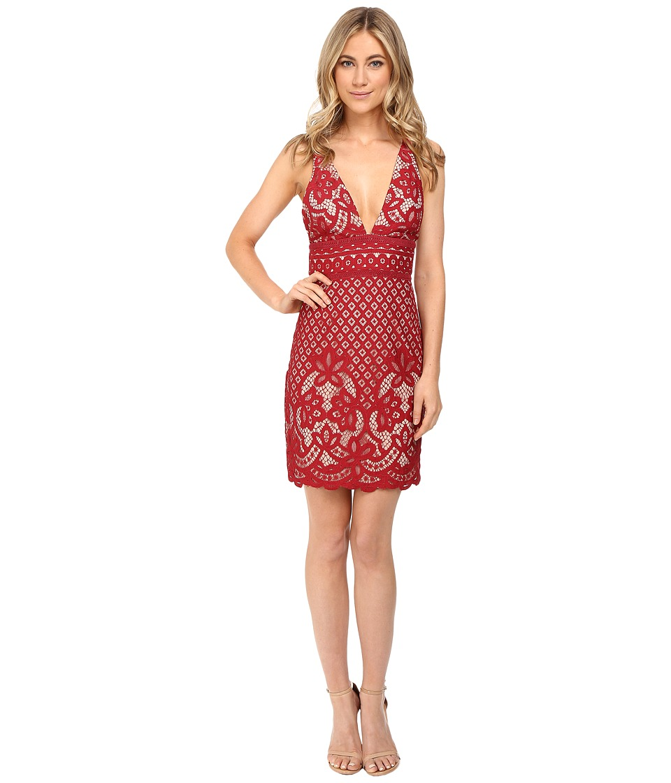 StyleStalker Lani Mini Dress (Earth Red) Women