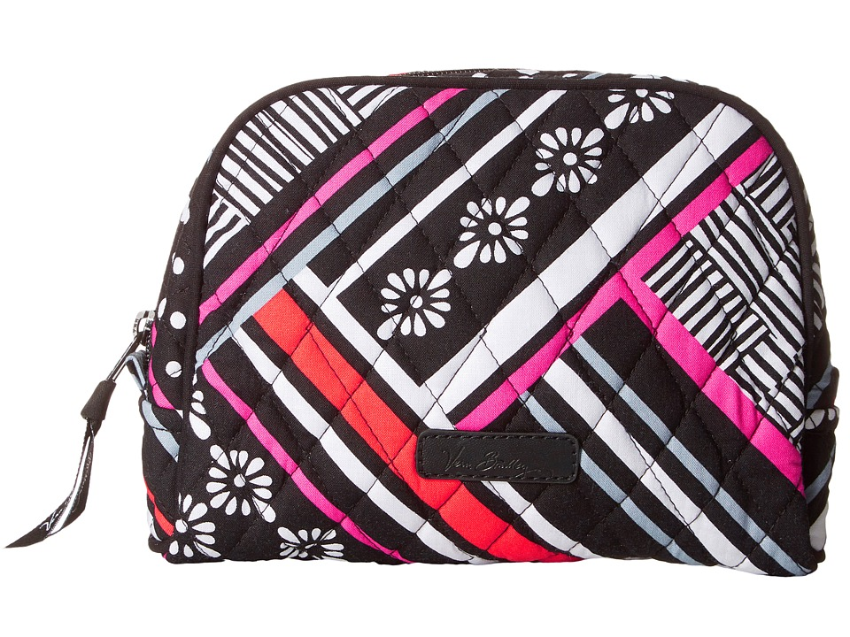 Vera Bradley Luggage - Medium Zip Cosmetic (Northern Stripes) Cosmetic Case