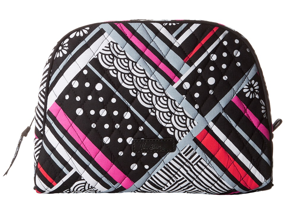Vera Bradley Luggage Large Zip Cosmetic (Northern Stripes) Cosmetic Case
