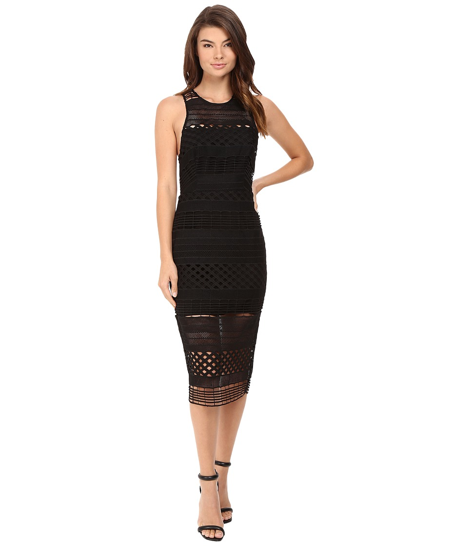StyleStalker - Harper Midi Dress (Noir) Women's Dress