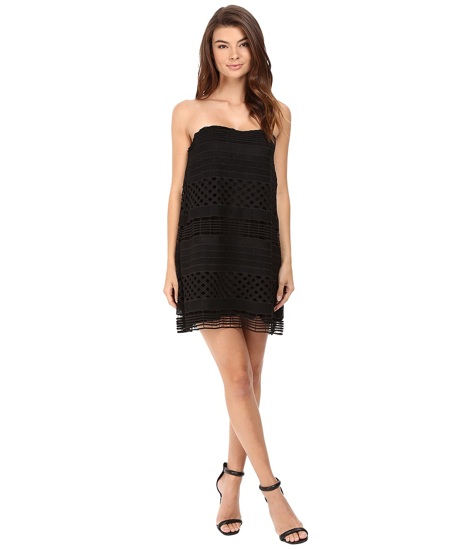 StyleStalker - Harper Strapless Dress (Noir) Women's Dress