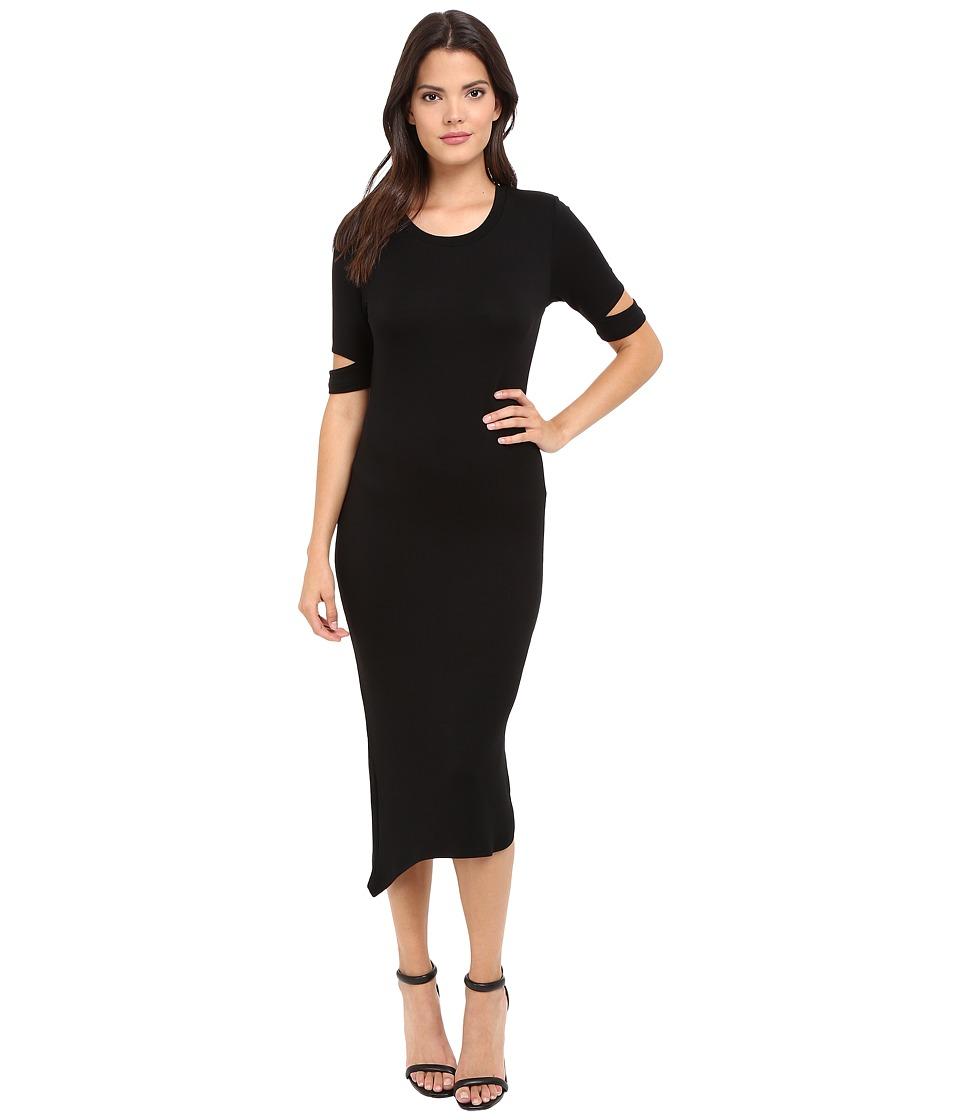 LNA - Esso Dress (Black) Women's Dress