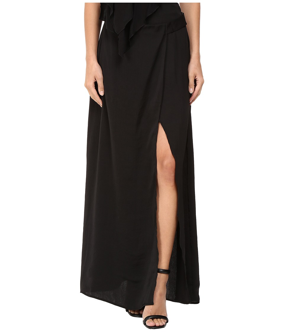 StyleStalker - Frances Maxi Skirt (Noir) Women's Skirt