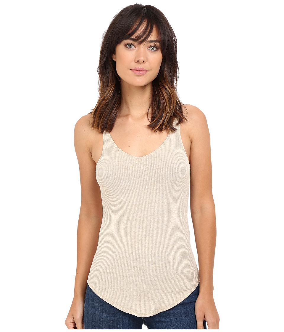LNA - V Ribbed Tank Top (Lino) Women's Sleeveless