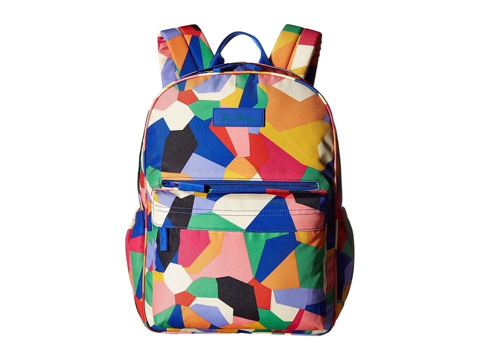 Vera Bradley - Lighten Up Just Right Backpack (Pop Art) Backpack Bags