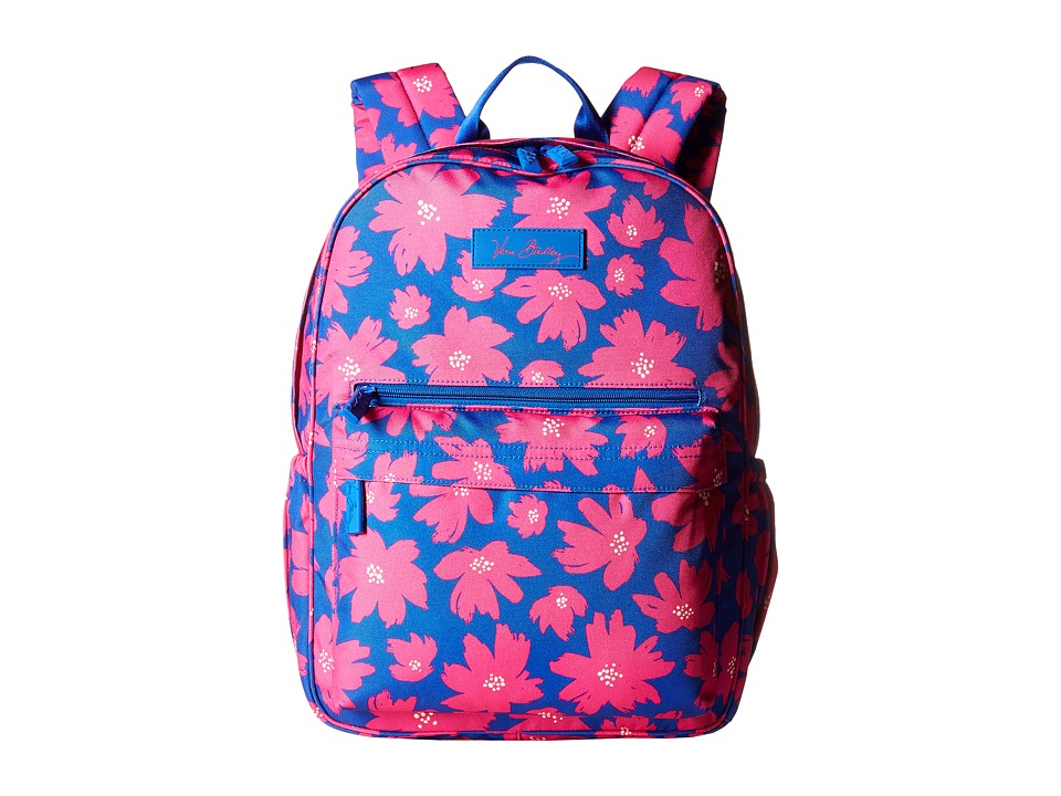Vera Bradley - Lighten Up Just Right Backpack (Art Poppies) Backpack Bags