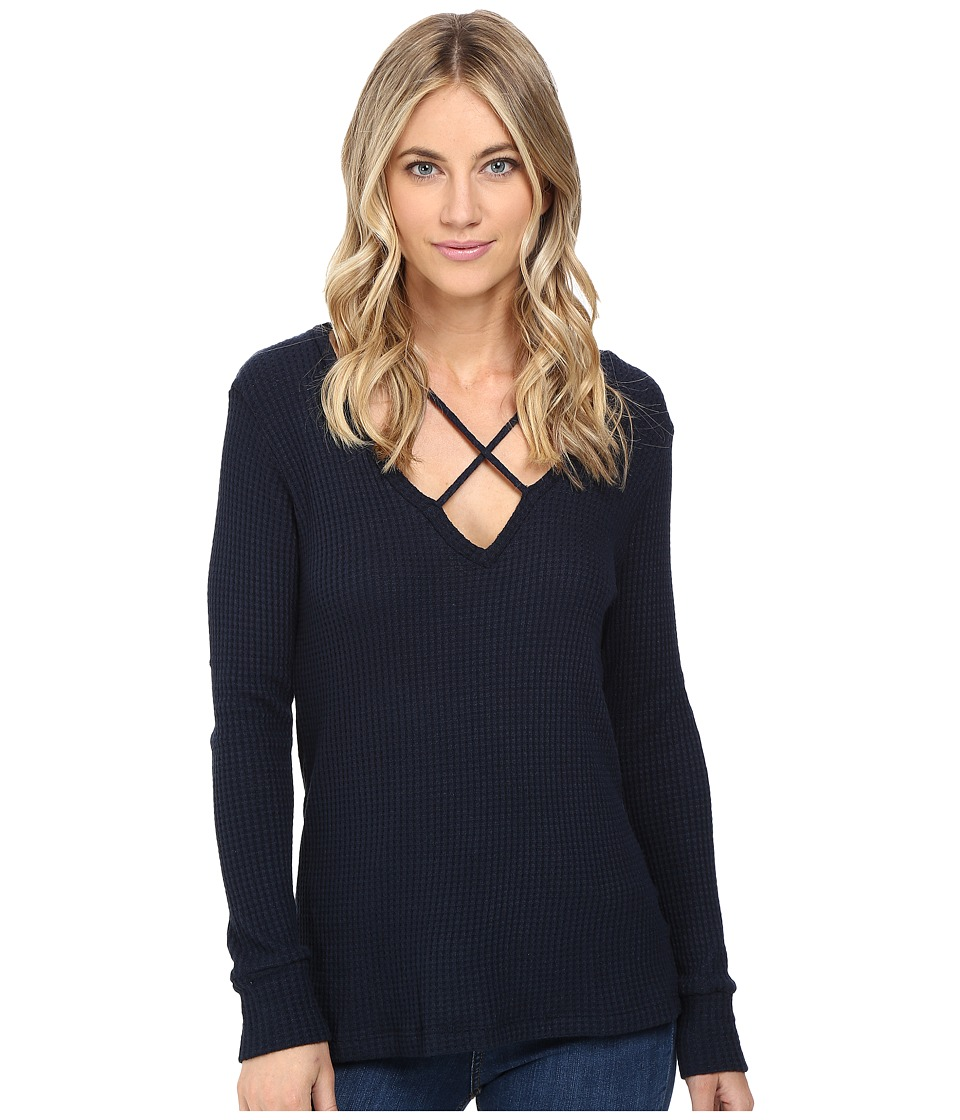 LNA - Cross Strap Sweater (Midnight) Women's Sweater