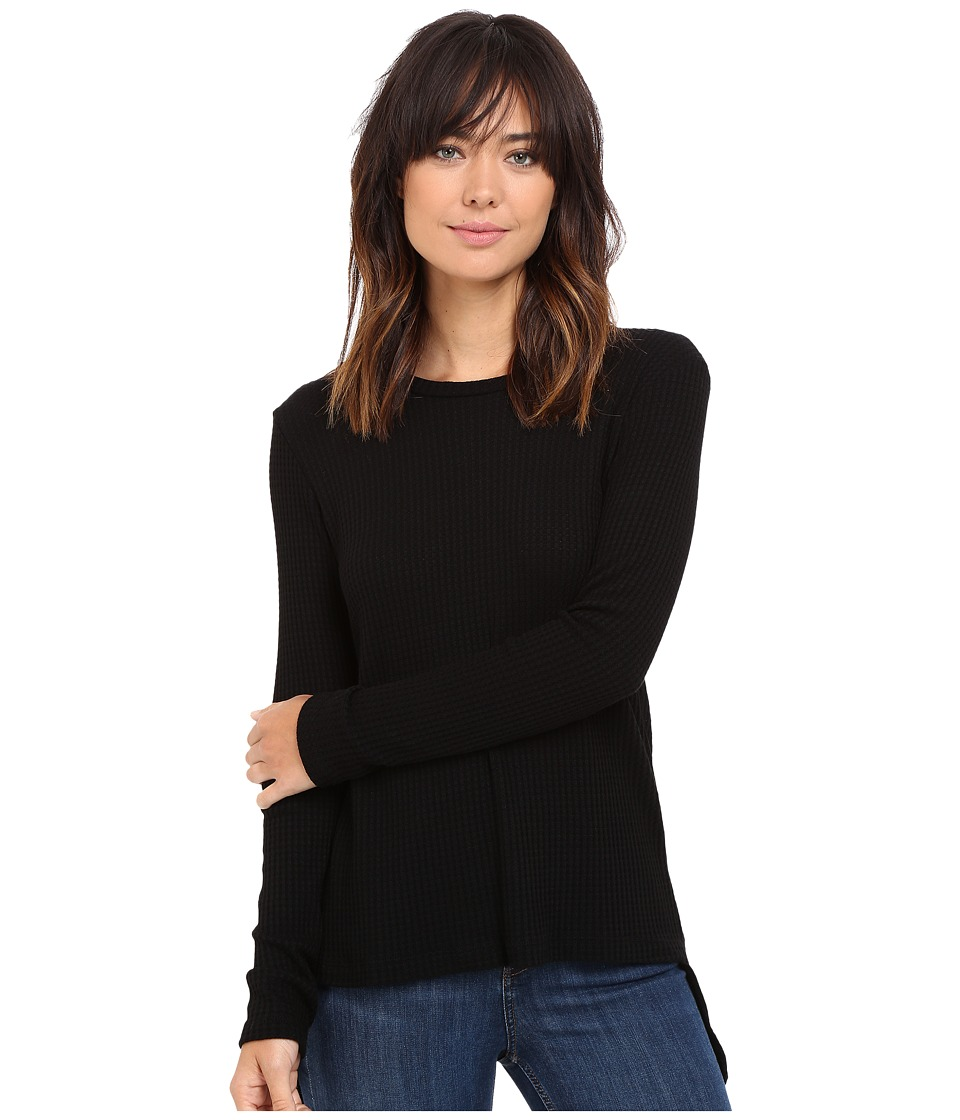 LNA - Waffle Ace Sweater (Black) Women's Sweater