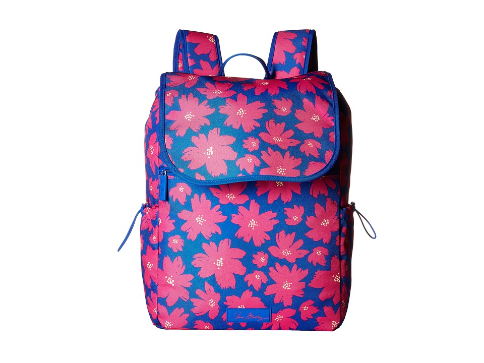 Vera Bradley Lighten Up Drawstring Backpack (Art Poppies) Backpack Bags