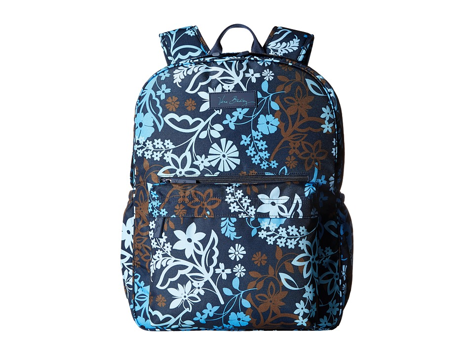 Vera Bradley - Lighten Up Grande Laptop Backpack (Java Floral) Backpack Bags