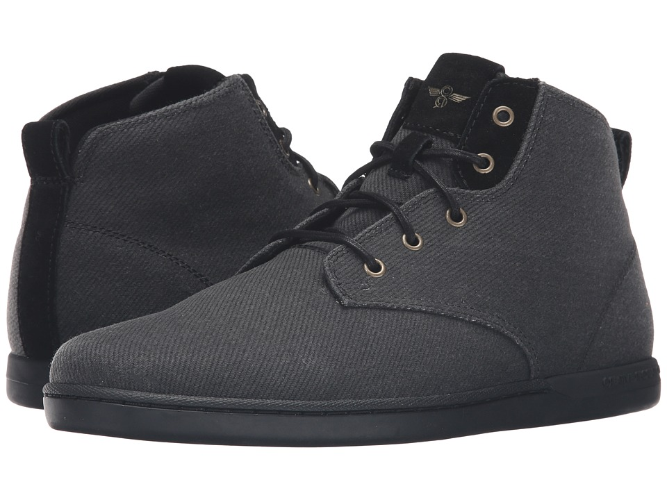 Creative Recreation - Vito (Black Suiting) Men's Lace up casual Shoes