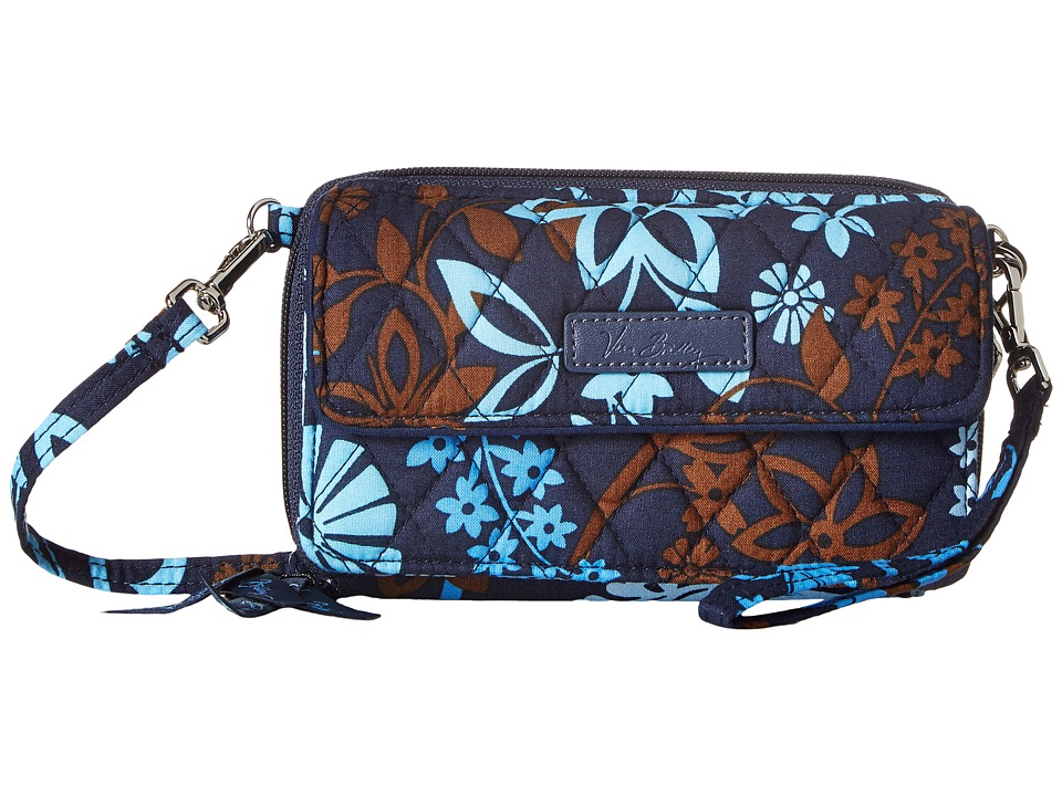 Vera Bradley - All in One Crossbody for iPhone 6+ (Java Floral) Clutch Handbags